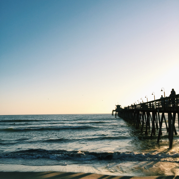 Imperial Beach Pier by NeoFeP2