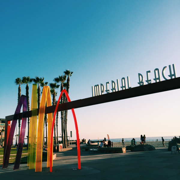 Imperial Beach Sign by NeoFeP2