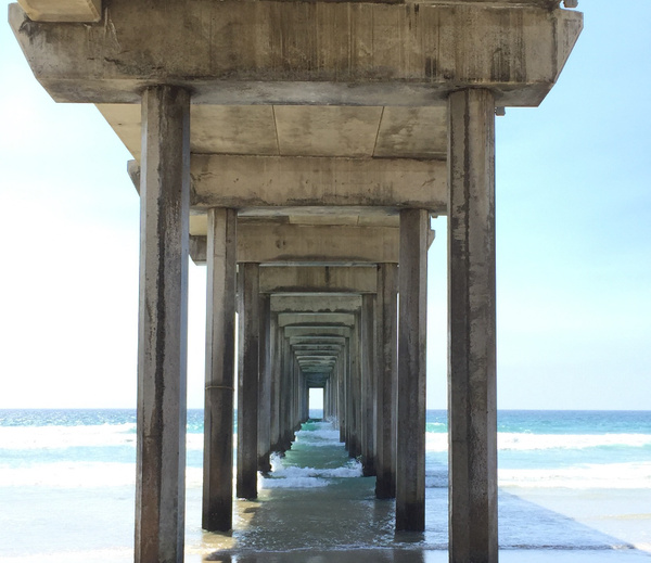 Scripps Pier by NeoFeP2