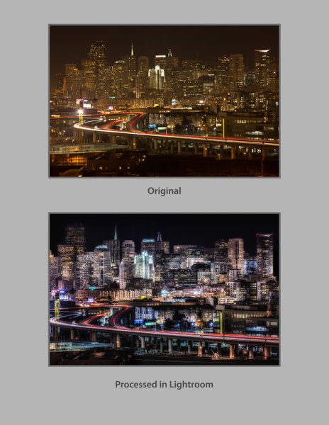 SF Skyline_Text by FotoClaveGallery