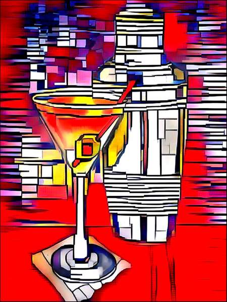 Abstract martini
