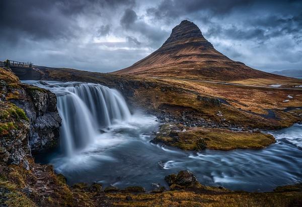 Kirkjufell Iceland by FotoClaveGallery