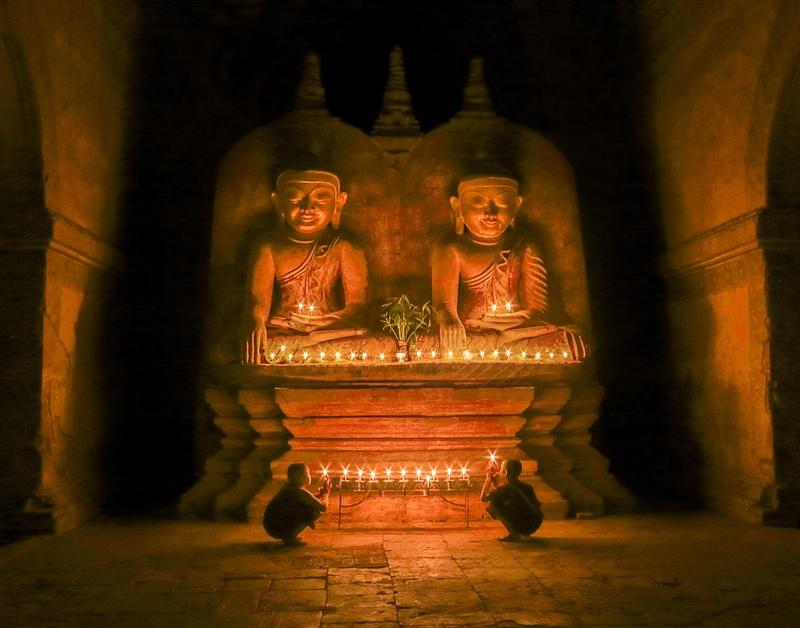 Temple Interior Bagan, Myanmar