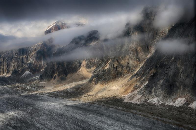 Ruth Glacier Alaska