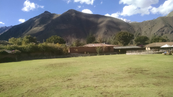 At Hotel in the Sacred Valley