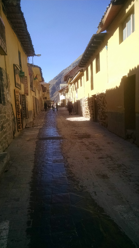 Small town in the Sacred Valley