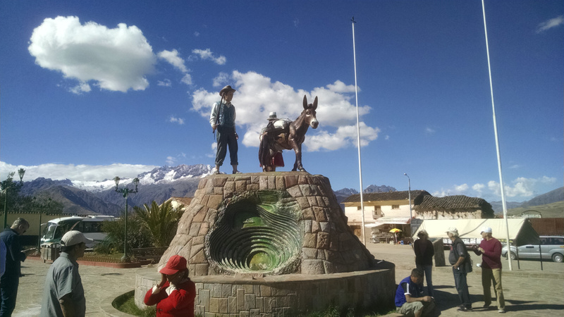 Another small town in Sacred Valley