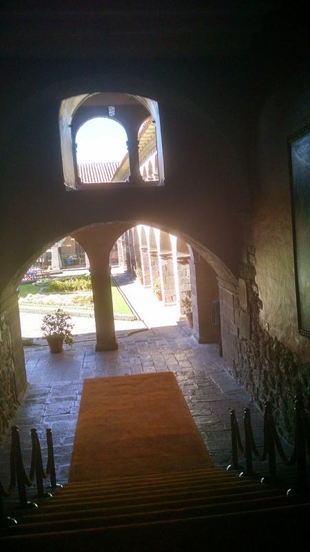 Courtyard in Hotel in Cusco