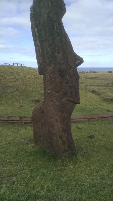 At Rano Raraku: Moai