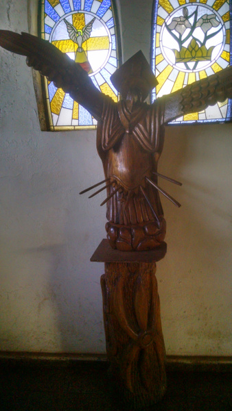 At the local church