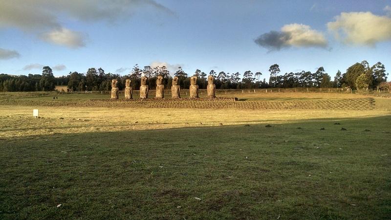 More moai