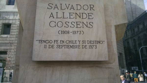 Monument to Allende