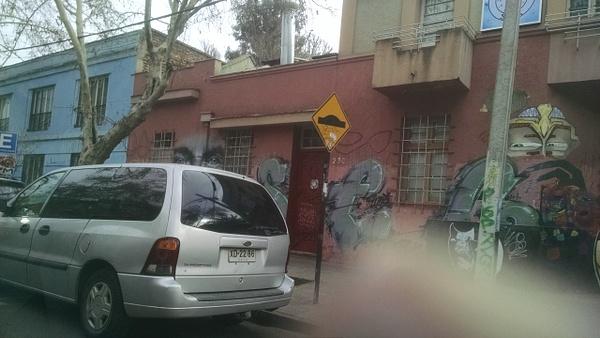 Driving in Santiago