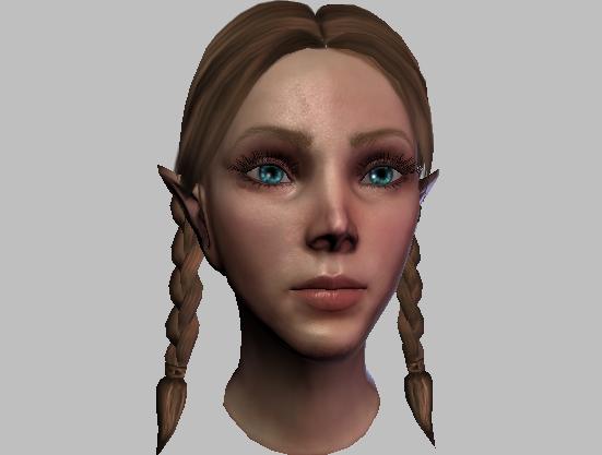 _elvenchild_orig by Littlegreycat