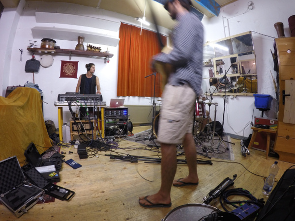 Chipote Chingon recording session by Irie Archives