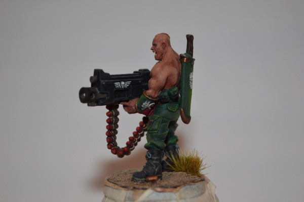 Gunnery Sergeant Harker by Vacheslav