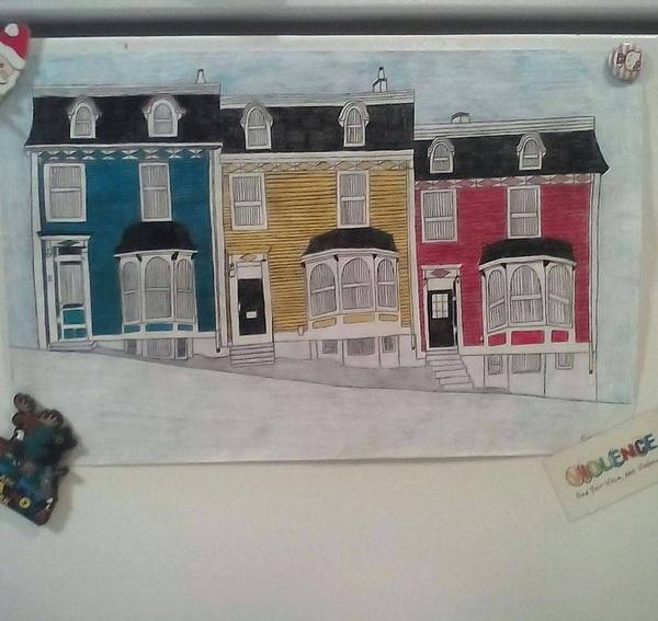 3 houses by NicoleChaulk