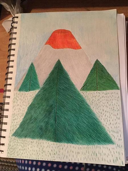 volcano by NicoleChaulk
