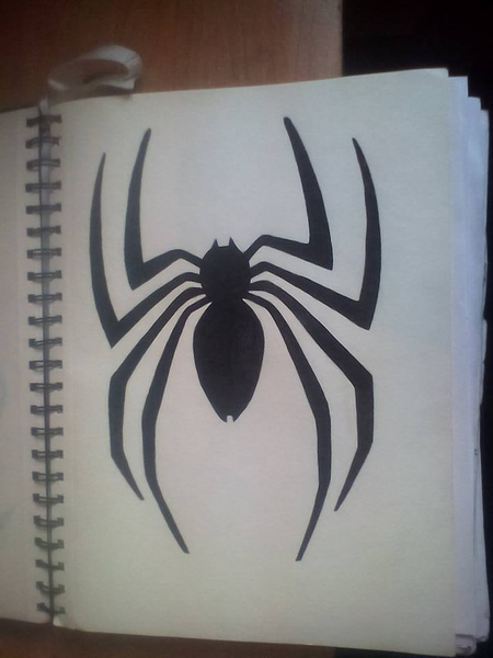 spider man logo by NicoleChaulk