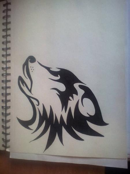 wolf by NicoleChaulk