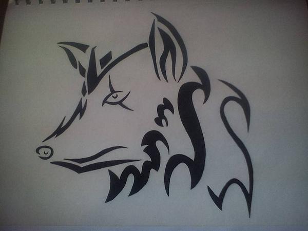 wolf 2 by NicoleChaulk