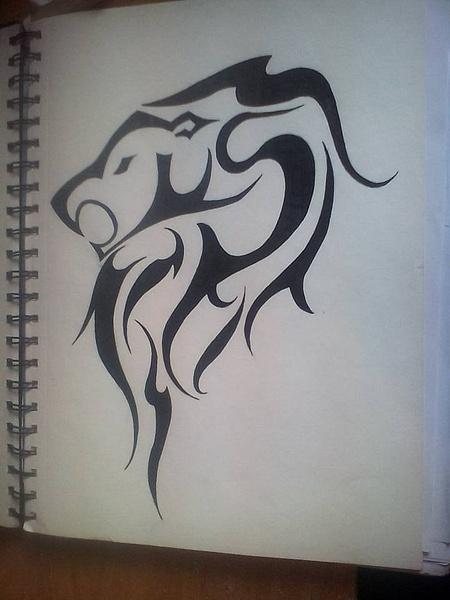 lion by NicoleChaulk