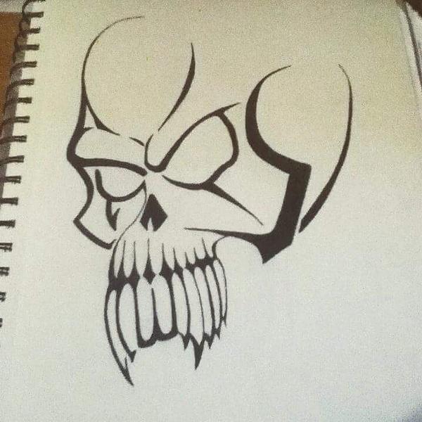 skull by NicoleChaulk