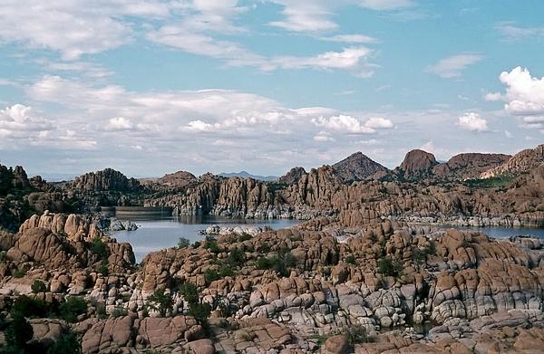 Watson Lake in Granite Dells - Central Arizona 1966 by...