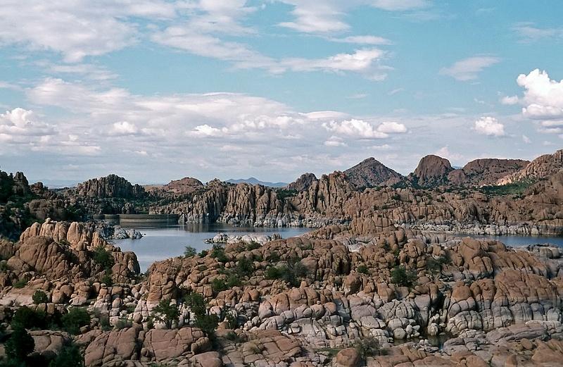 Watson Lake in Granite Dells - Central Arizona 1966