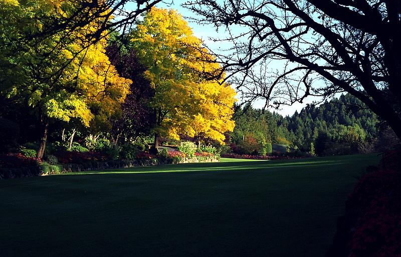 Butchart Gardens - 2001