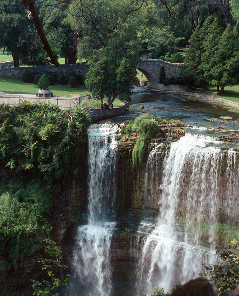 Webster's Falls - near Hamilton, Ontario 1967 by...