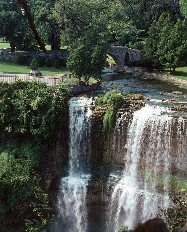 Webster's Falls - near Hamilton, Ontario 1967