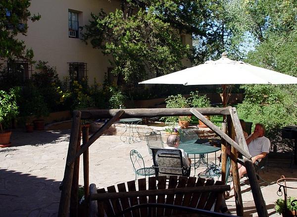 La Posada courtyard by ArizonaLorne
