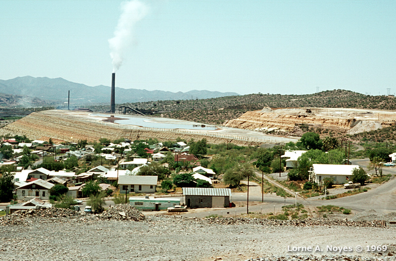 Mine at Superior, AZ in 1969