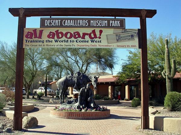 Desert Caballeros Museum by ArizonaLorne by ArizonaLorne