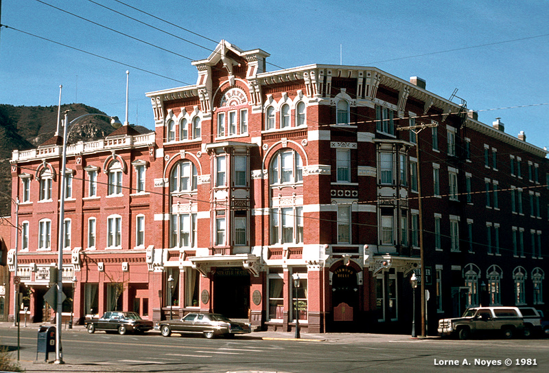 Strater Hotel in Durango