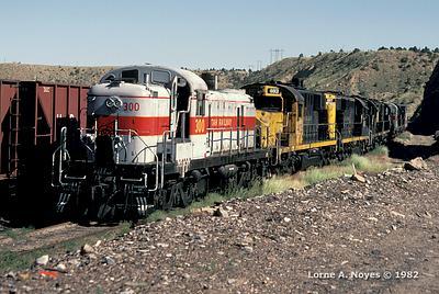 1980 - 1984 Utah Railway