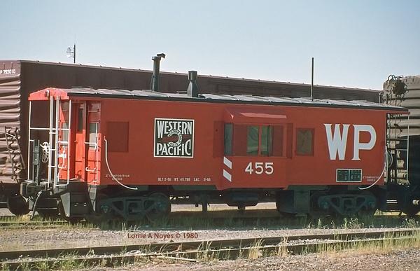 1980 WP's Oroville, CA yard by ArizonaLorne