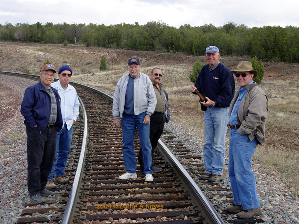 1st group photo crossing the Peavine by ArizonaLorne