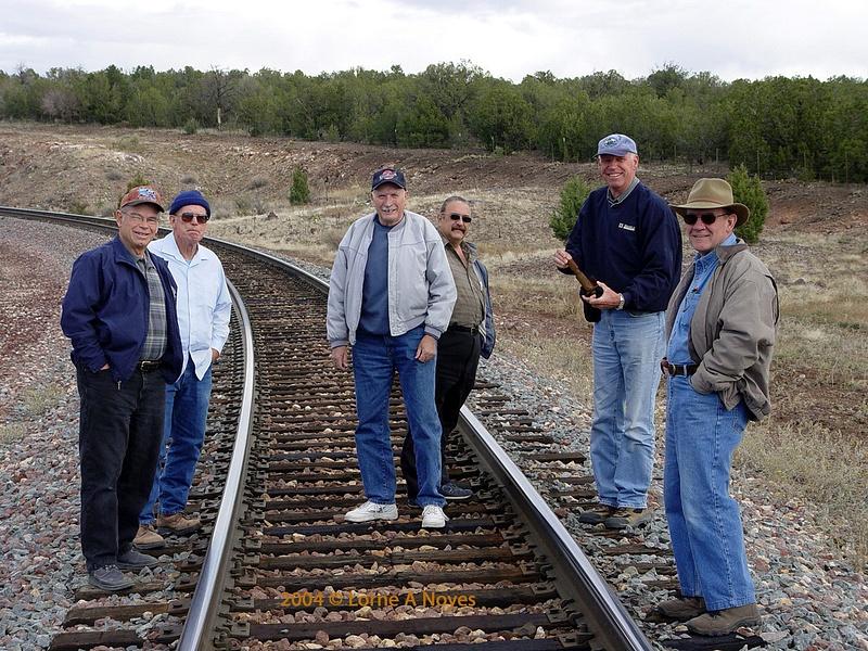1st group photo crossing the Peavine