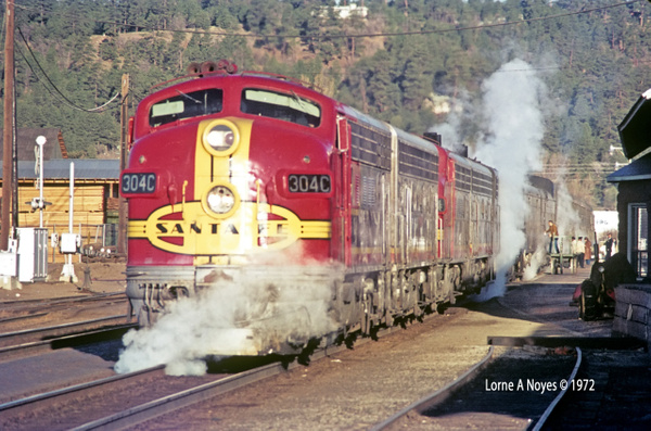 Early Amtrak thru Flagstaff  1972-1981 by ArizonaLorne
