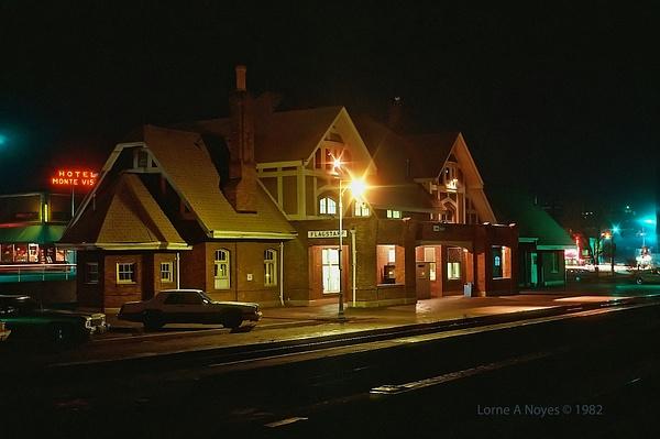 Amtrak Station in Flagstaff, AZ by ArizonaLorne