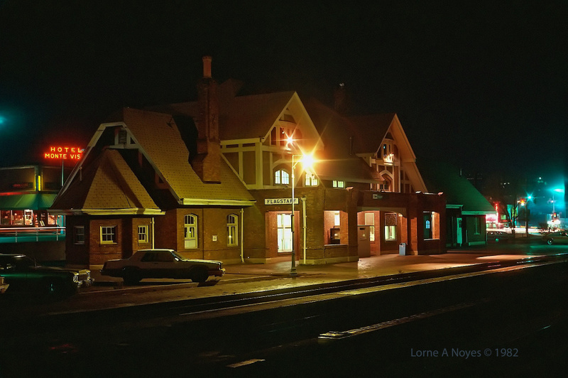 Amtrak Station in Flagstaff, AZ