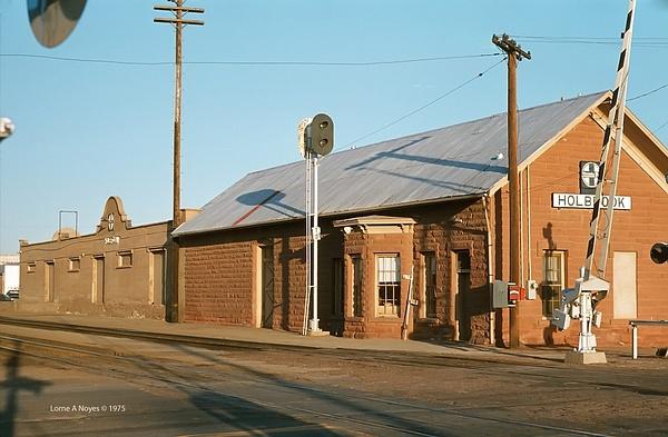 ATSF Freight Depot in Holbrook, AZ by ArizonaLorne