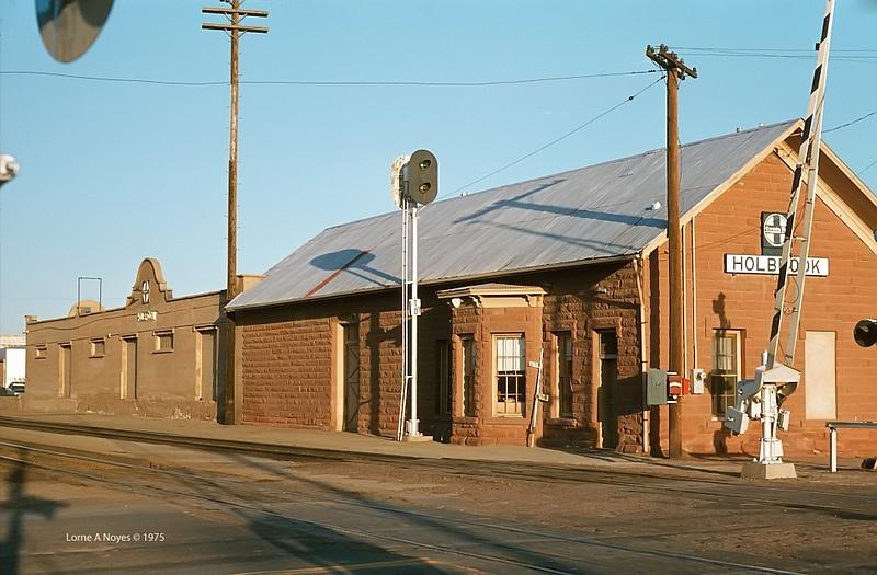 ATSF Freight Depot in Holbrook, AZ