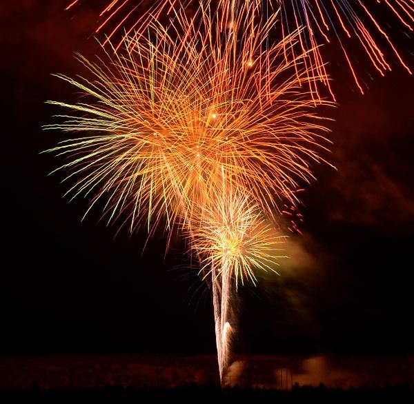 Lightning - Fires - Fireworks by ArizonaLorne