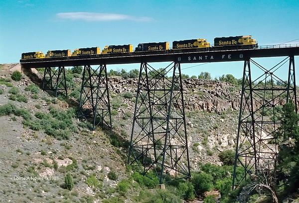 Hell Canyon Bridge, AZ by ArizonaLorne