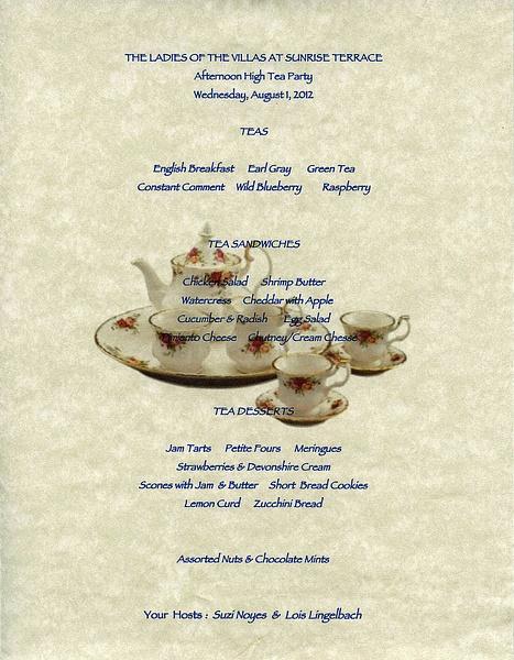 2012 The Villas Tea Party by ArizonaLorne by ArizonaLorne