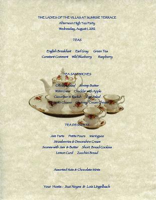 2012 The Villas Tea Party