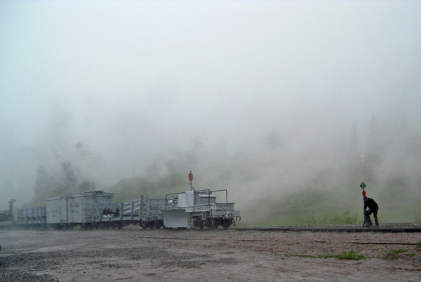 Wye-the-train in the clouds by ArizonaLorne